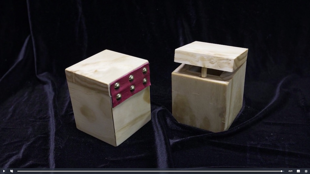 Woodworking Projects by Hand - Advanced: Boxes